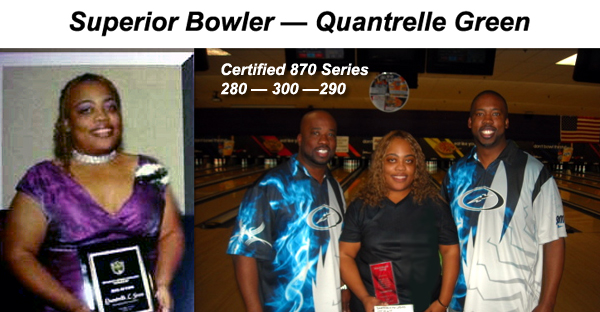 Quantrelle Green Bowling 870